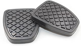 Hotwin 2 PCS Clutch & Brake Pedal Pad Rubber Cover Compatible with Subaru Forester MT