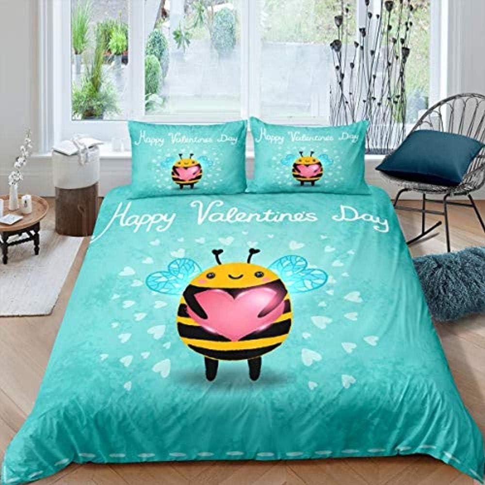PTBDWOSZ Microfiber 3D Duvet Set King 1 Bed Children's Free shipping New Tulsa Mall Linen
