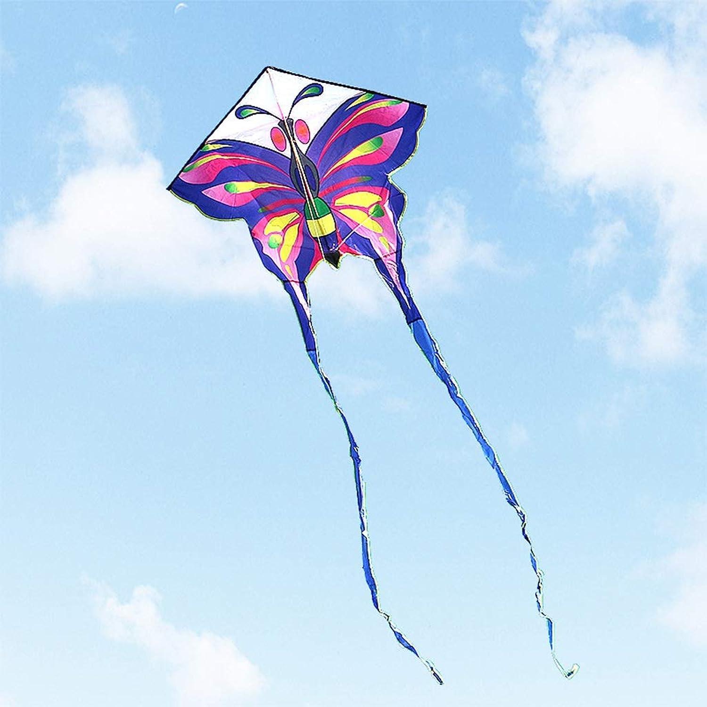Zhao Butterfly Kite, Coloreeful lungo Tail Outdoor Kite Beach Breeze Facile da Volare gree Adult Kite Flying giocattolo, 140  420CM (Dimensioni   140  420CM)