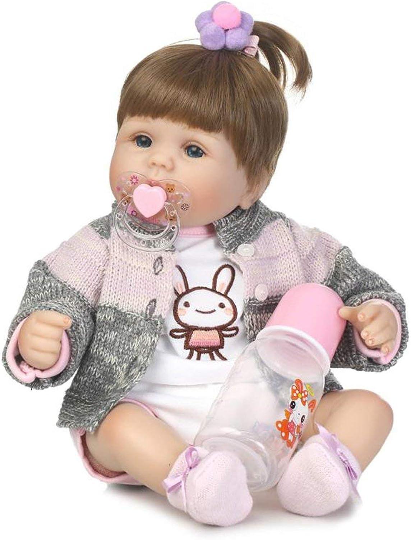 al precio mas bajo Jiobapiongxin 40 cm Cuerpo de Tela Suave Vinilo de de de Silicona Baby Doll Realista Recién Nacido Baby Doll Juguetes Reborn Baby Doll Jugarmate Gift Alive Juguetes Doll JBP-X  60% de descuento