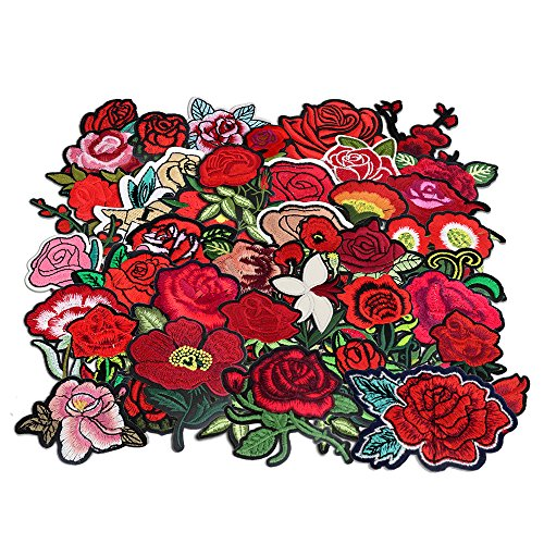 Embroidered Rose - 9