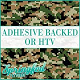 Digital WOODLAND CAMO Pattern Army Urban Camouflage Heat Transfer or Adhesive Vinyl CHOOSE YOUR SIZE!