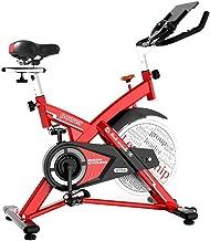 دراجة تمارين - معدات هوائية - جهاز تدريب ركوب الدراجات في الأماكن المغلقة مع عجلة دوارة لتمرين تمارين القلب XUAGMT