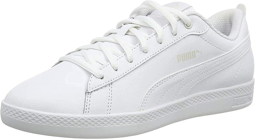 Puma smash wns v2 l scarpe sneakers da ginnastica per donna IN PELLE 365208A