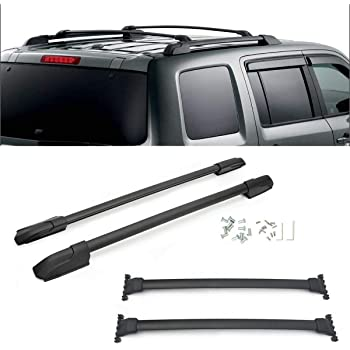 Amazon Com Brightlines Crossbars Roof Racks Compatible With 2016 2020 Honda Pilot Without Roof Side Rails Automotive