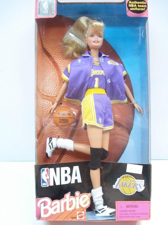 NBA Los Angeles Lakers Barbie
