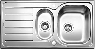 BLANCO Lanis 6 S, Küchenspüle, Einbauspüle, Edelstahl Bürstfinish, 516049