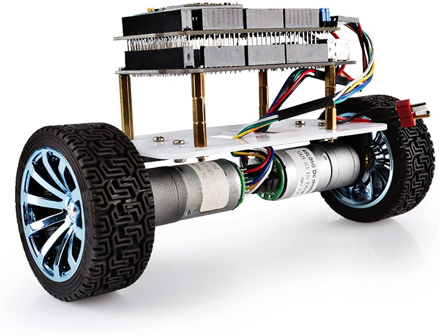 SainSmart Upgraded Smart Robot Car Kit with Mega InstaBots V4 Kit with blueetooth Module, for Arduino Programmable Robot Kit Learn Coding, Robotics, Electronics and Have Fun