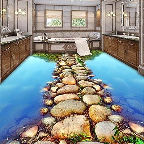 ROSYTT Material de PVC piso//pared//azulejo de papel autoadhesivo DIY impermeable 3D mosaico decoraci/ón etiqueta engomada 10x10cm