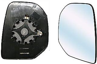 Per Citroen Nemo 2008/ /2015/passeggero lato sinistro anta specchio convesso in vetro con piastra di
