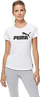 Puma Tape Tee For Women, Size XL White