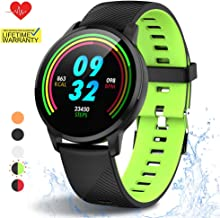 Fitness Tracker, Waterproof Activity Tracker with Heart Rate Monitor and Sleep Monitor,Waterproof Pedometer, Step Counter, Calories Counter for Android & iPhone