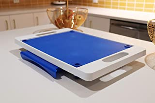 Karving King Kitchen Dripless Cutting Board 2 in 1 System | Non Slip Feet & Spikes Hold Food in Place while Carving | Juic...