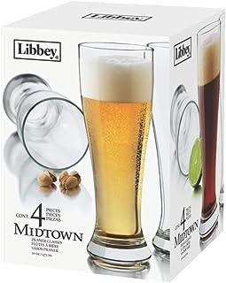 Libbey Midtown Pilsner 4 Piece Set - 4 sets per case.