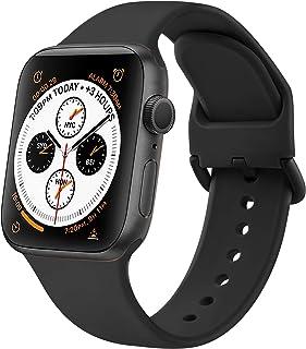 AOZZ 4-PEZZI Compatibile per Cinturino Apple Watch 40mm 38mm 42mm 44mm, Cinturini Sportivo per iWatch SE Series 6 5 4 3 2 ...