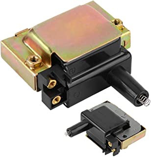 Keenso Bobina de encendido automático Conjunto de bobina de encendido del motor negro para CR-V 30510PT2006