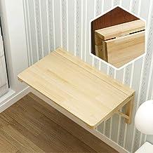 SYLTL Składany stół ścienny, wielofunkcyjny stół kuchenny, przenośny, 60 kg, 120 x 40 cm