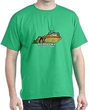 CafePress Kentucky The Bluegrass Dark T Cotton T-Shirt