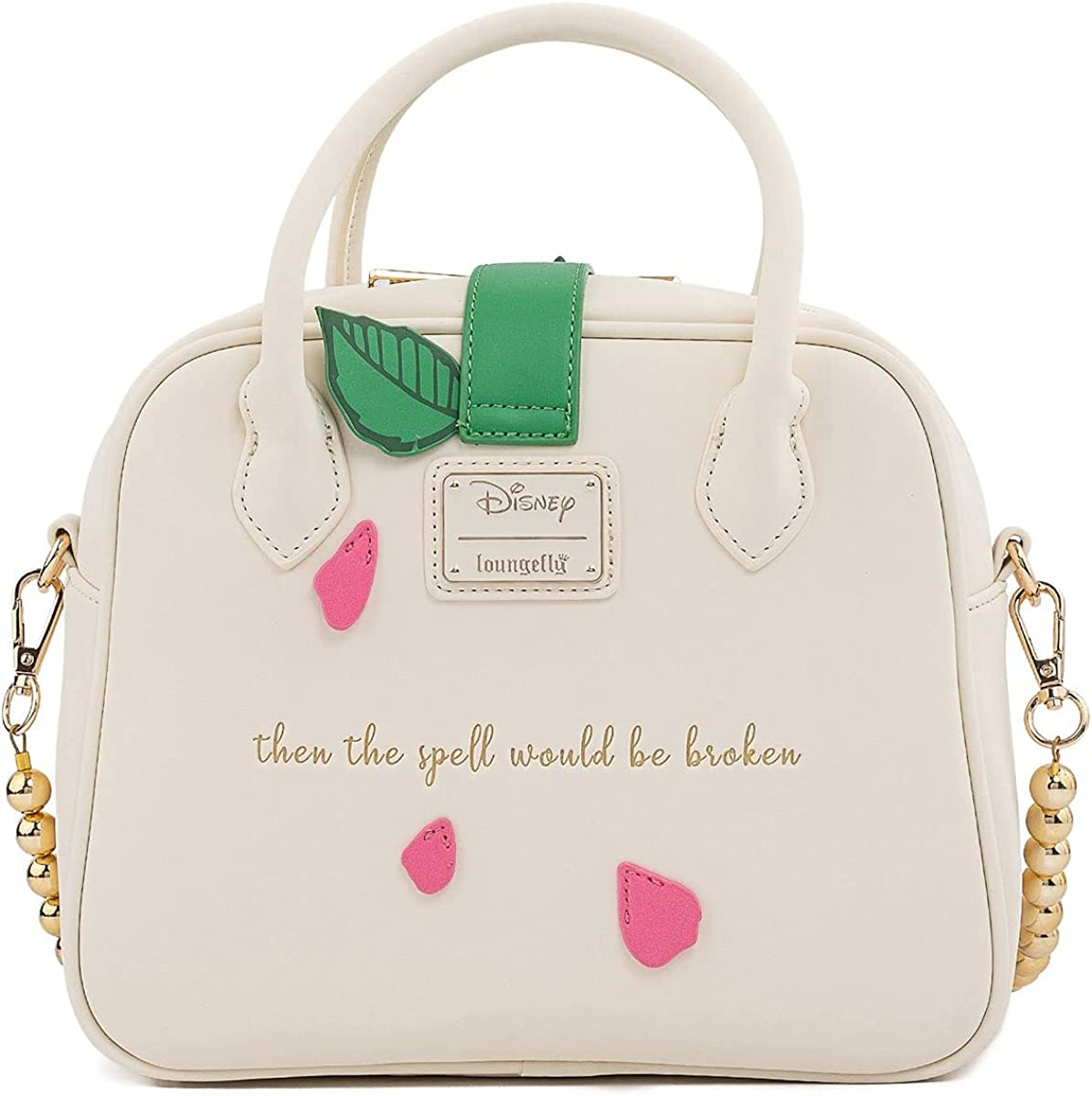 Loungefly Beauty and the Beast Rose Crossbody Bag
