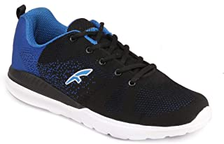 FURO by Red Chief Black/Blue Running Sports Shoes for Men FL1001 069