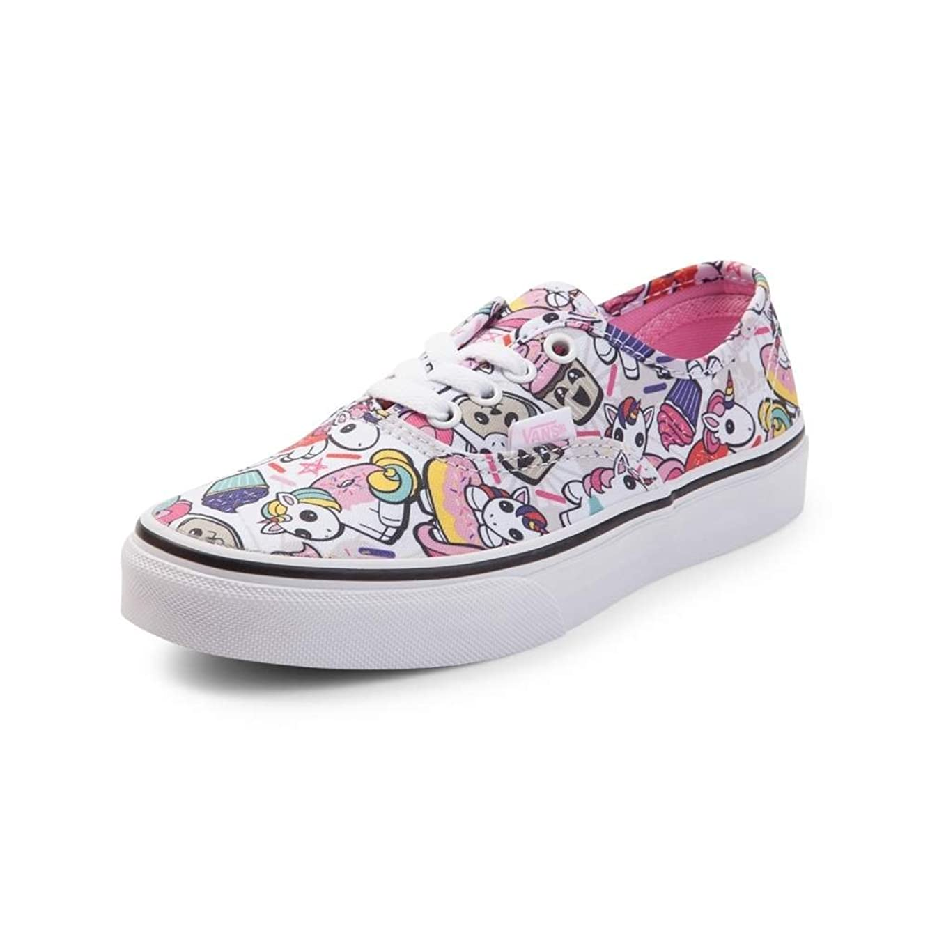 ベルトクライアント未知の(バンズ) VANS 靴?シューズ スニーカー Youth Vans Authentic Donut Unicorn Skate Shoe Multi マルチ US 2.5 (20.5cm)