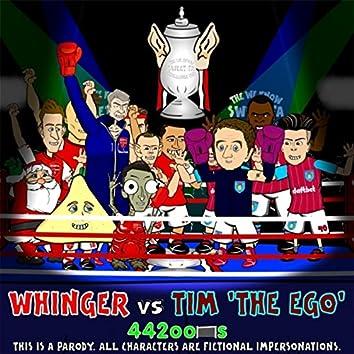 Whinger vs Dim Tim (FA Cup Final Rap Battle Parody 2015)