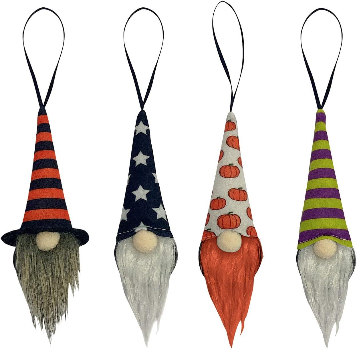 Halloween Gnomes Plush Decoration Set T 4 Handmade of Limited price price sale