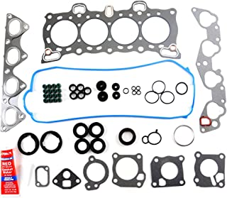SCITOO Compatible with Cylinder Head Gasket Kits fit 88-95 HONDA CIVIC LX VX DX 1.5L 1.6L D15B D16A6 Engine Cylinder Head Gaskets Automotive Replacement Gasket Set
