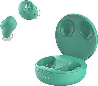 Motorola VerveBuds 250 – Bluetooth in Ear True Wireless Hörlurar – Bärbar, trådlös laddningsbox – 18 timmar – IPX5 vattent...