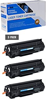 Inksters Compatible Toner Cartridge Replacement for HP CF283X (83X) Black - Compatible with Laserjet Pro M201N M201DW MFP M125 M125NW M201 M225 MFP (3 Pack)