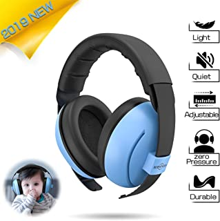 Baby Headphones Baby Ear Protection - Noise Cancelling Headphones for Babies, Toddlers and Infants (Blue)
