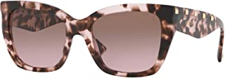 Valentino VA4048 509814 Brown/Pink VA4048 Cats Eyes Sunglasses Lens Category