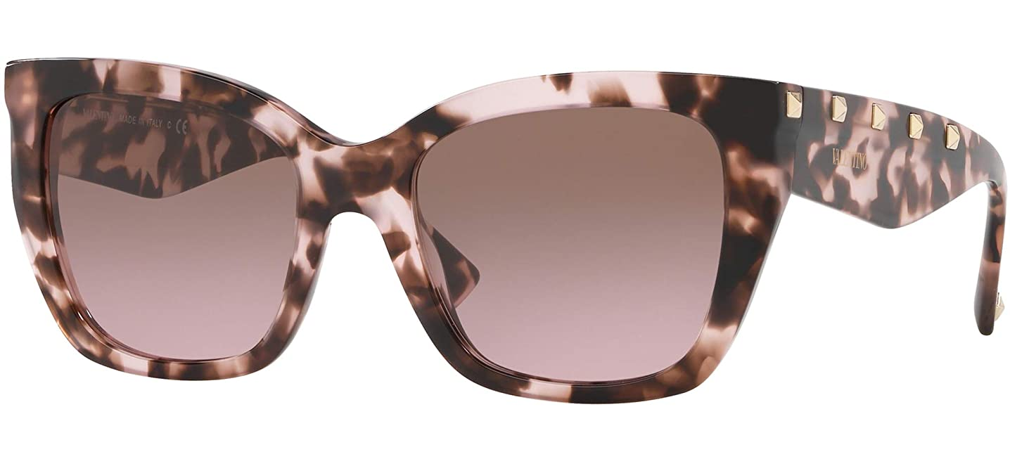 Valentino VA4048 509814 Brown/Pink VA4048 Cats Eyes Sunglasses Lens Category