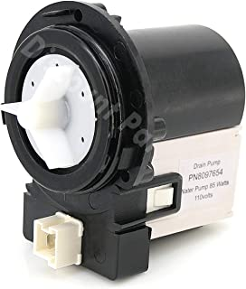 DC31-00054A Washer Drain Pump Water Motor Assembly Replacement Part for Samsung Maytag Kenmore - Replaces DC31-00016A PS4204638