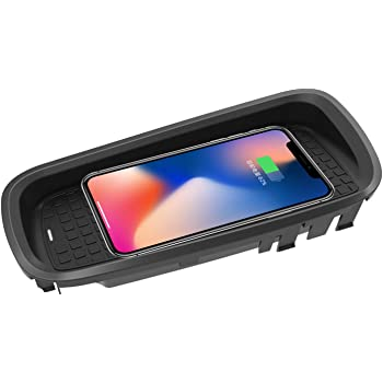 Samsung S9+ //S9 //S8//S7//Note 8 and Qi Enabled Devices ZWNAV Wireless Car Charger Mount for Lexus NX 2015-2017 10W Fast Charging Compatible with iPhone XS//XR//X//8//8+ Qi Certified