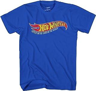 قميص بأكمام قصيرة من هوت ويلز - قميص قصير للأولاد - قميص سيارات