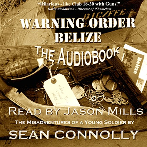 Warning Order Belize audiobook cover art