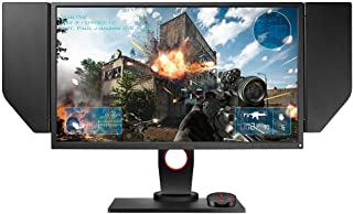 BenQ ZOWIE XL2536 24.5 inch 144Hz Gaming Monitor   1080p 1ms   Dynamic Accuracy & Black Equalizer for Competitive Edge   S-Switch for Custom Display Profiles   Shield