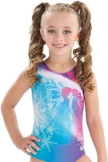 GK Disney Anna & Elsa Frozen Gymnastics Leotard for Girls
