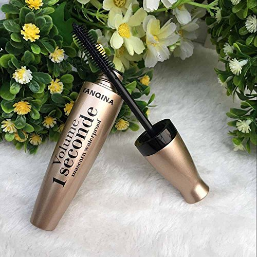 Serria 3D Fibre Mascara Long Black Lash Wimpernverlängerung 3D Transplantationsgel Wasserdichtes Augen Makeup Extension Tool
