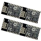 ZERO-TECH Esp8266 Esp-12e Serial WiFi Wireless Transceiver Module for Arduino UNO 2560 R3(Pack of 4)