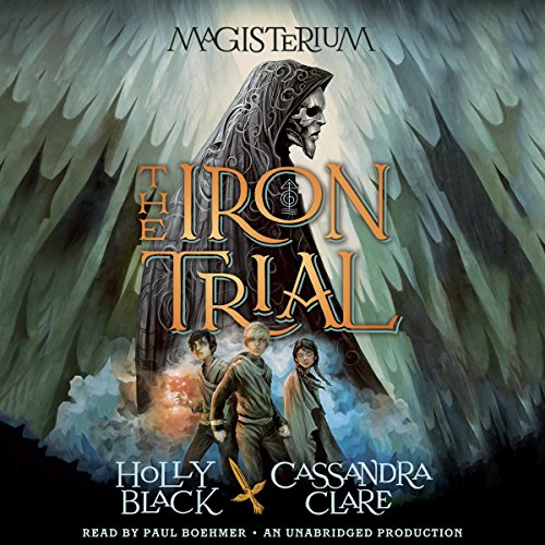 The Iron Trial audiobook cover art