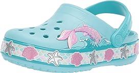 330392c03f5e9 CrocsFunLab Mermaid Band Clog (Toddler Little Kid)