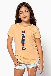 T-SHIRT INFANTIL FEMININA OXENTE