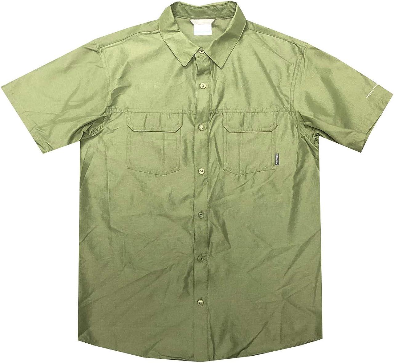 Columbia Mens Omni-Shade UPF 50 Westerly Winds Short Sleeve Shirt