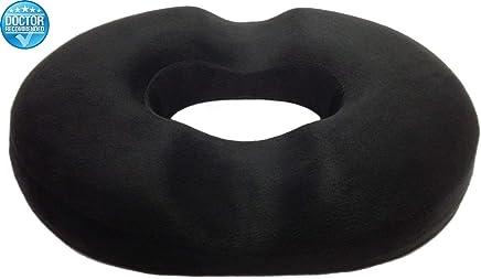 NOVIMED Medical Hemorrhoids Treatment Ring Donut Tailbone Cushion for Hemorrhoids, Prostate Cushion, Pregnancy Cushion. Ultra Premium Comfort Foam Hemorrhoid Ring Pillow