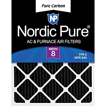 Nordic Pure 14x18x1 Exact MERV 10 Pleated AC Furnace Air Filters 1 Pack
