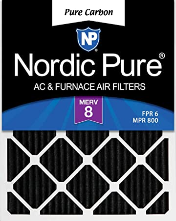 Nordic Pure 22x36x1 MERV 13 Pleated AC Furnace Air Filters 4 Pack