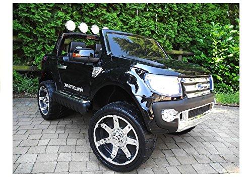 RC Kinderauto kaufen Kinderauto Bild 1: Elektro Kinderauto Elektrisch Ride On Kinderfahrzeug Elektroauto Fernbedienung - Ford Ranger 2-Sitzer - Schwarz*
