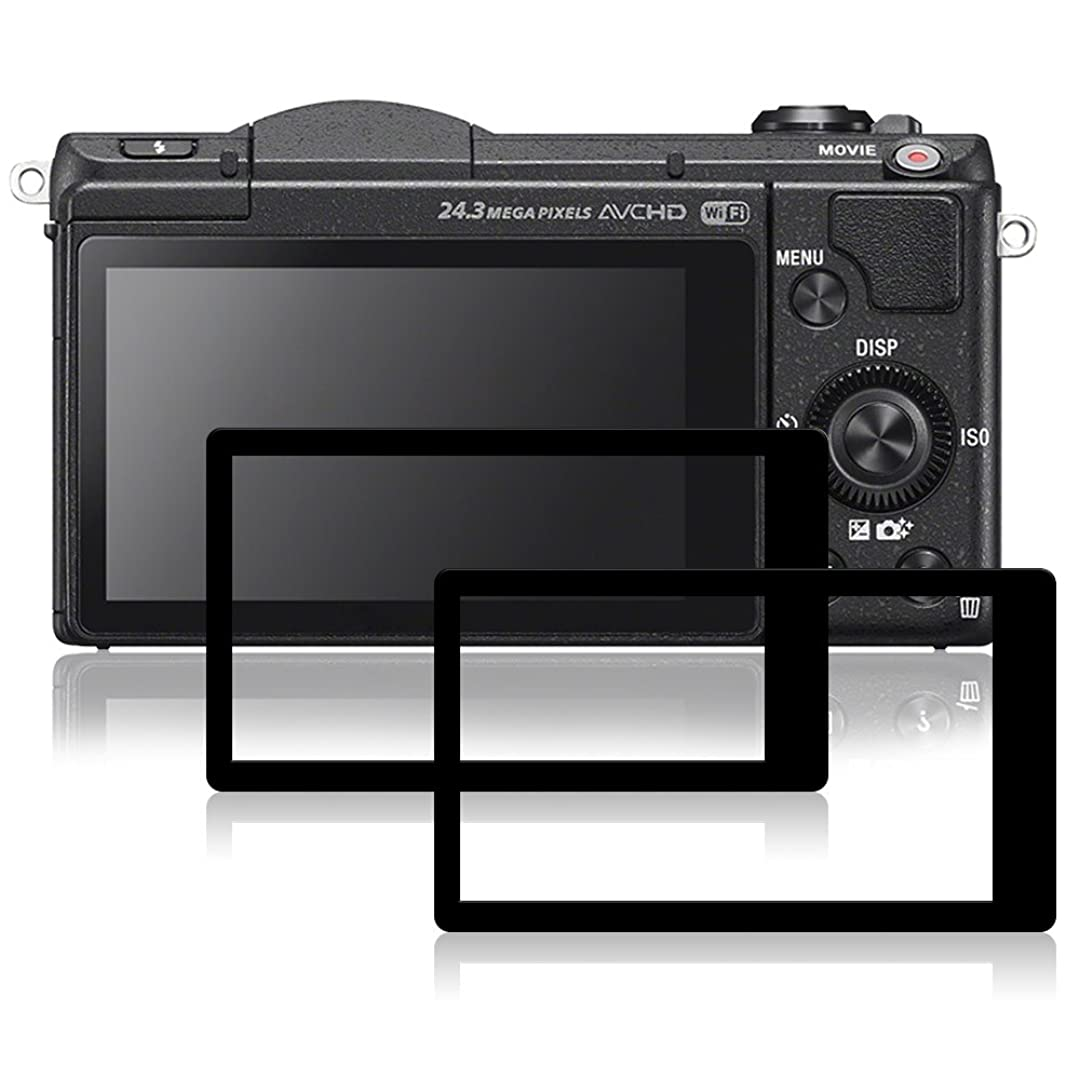 知事夜明けに不満Sony A5100 用 液晶保護フィルム AFUNTA キャノン 一眼レス用 ガラスフィルム 液晶プロテクター 2枚入り